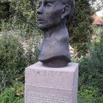 Rat Wosnitza , Portrait I 2016 I Bronze I Höhe 70 cm I Parkanlage Salzgitter-Gebardshagen