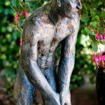 Adam I 1998 I Bronze I Höhe 90 cm I Botanischer Garten Braunschweig