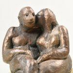 DETAIL: Das kleine Geheimnis I 2005 I Bronze I Höhe 17 cm