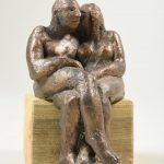Das kleine Geheimnis I 2005 I Bronze I Höhe 17 cm