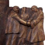 DETAIL: Menschen und Justiz I 2017 I Bronze I 140 x 70 cm I Fachgerichtszentrum Hannover