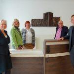 Menschen und Justiz I 2017 I Bronze I 140 x 70 cm I Fachgerichtszentrum Hannover