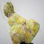 Gelber Engel 2 I 2006 I Stuckgips bemalt I Höhe 20 cm