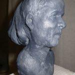 Ahrens, Doppelportrait I 2011 I Bronze I Höhe 10 cm
