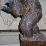 Minotaurus Skizze I 1998 I Bronze I Höhe 35 cm