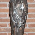 Wenn der Scheidepunkt erst überwunden istI 2003 I Bronze I Höhe 80 cm I Kirche der Versöhnung Erftstadt
