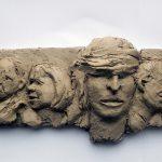 Menschen   Justiz, Modell I 2013 I Ton I Länge 40 cm
