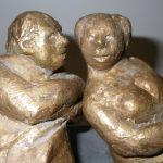 DETAIL: Alte Liebe I 2011 I Bronze I Höhe 20 cm