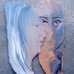 Paar I 2010 I Gouache   Collage I 30 x 20 cm