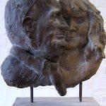 Röper, Doppelportrait I 2008 I Bronze I Höhe 50 cm