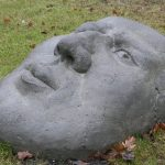 Alfred I 2005 I Beton pigmentiert I Länge 100 cm