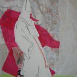 Papst Clemens I 2005 I Mischtechnik Collage I 40 x 30 cm