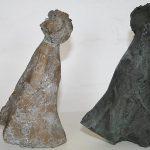 Hin u. Her I 2004 I Bronze I Höhe 20 cm