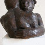 Blickkontakt I 1991I Bronze I Höhe 30 cm