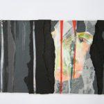 Sehnsucht I 2012 I Mischtechnik Collage I 22 x 12 cm
