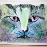 Katze I 2009 I Aquarell I 25 x 15 cm