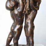 Taufkerzenhalter Modell I 1997 I Bronze I Höhe 20 cm