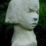 Emma I 2005 I Beton pigmentiert I Höhe 20 cm