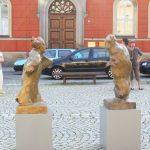 Lessings Geist streitet weiter I 2005 I Bronze I Höhe 120 cm I Lessing Museum Kamenz