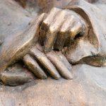 DETAIL: Selene I 2001 I Bronze I Höhe 120 cm