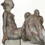 Drei Grazien I 2001 I Bronze I Höhe 90 - 120 cm I Stadtsparkasse Magdeburg