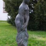 Der erste Schritt I 1999 I Bronze I Höhe 110 cm I Schieder